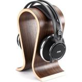 Casti DJ AKG Pro Audio K812 Pro cu stand din lemn masiv, Casti Over Ear, Cu fir, Mufa 3,5mm