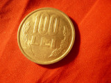 Moneda 100 lei 1992 Romania , cal. F.Buna