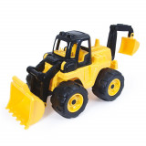 Buldozer cu excavator de jucarie Dolu Max Power, 69 cm