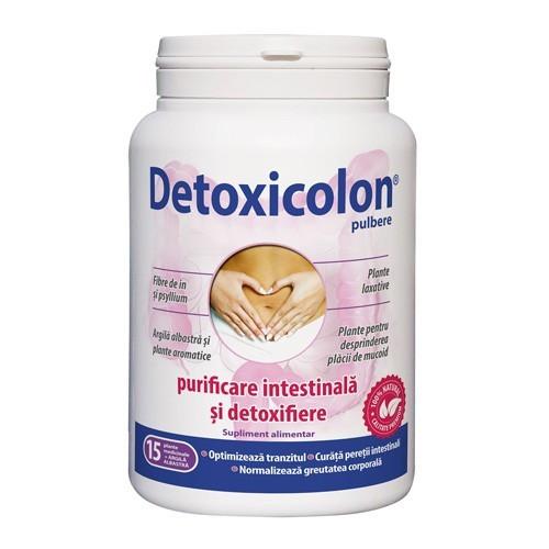 Detoxicolon pulbere, 450g, Dacia Plant