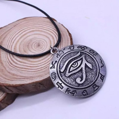 Pandantiv Ochiul lui Horus ochiul lui Ra  amuleta talisman totem foto