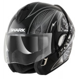 Casca viziera rabatabila SHARK EVOLINE ST SERIES 3 MEZCAL CHROME culoare chrom negru marimea XL