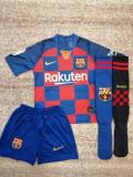Echipament fotbal Fc Barcelona Messi copii 5-13 ani