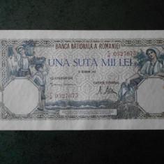UNA SUTA MII LEI 20 DECEMBRIE 1946 IMPECABILA, NECIRCULATA