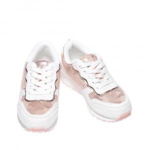 Pantofi sport copii Rebia albi