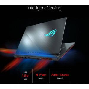 Laptop Asus ROG Strix Hero III G531GU-AL061 15.6 inch FHD Intel Core i7-9750H 16GB DDR4 512GB SSD nVidia GeForce GTX 1660 Ti 6GB Black