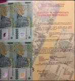 10000 lei polimer - semnatura Ghizari