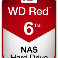 HDD Western Digital NAS Red, Intellipower, 6TB, SATA III 600, 256MB Buffer, 5400 RPM