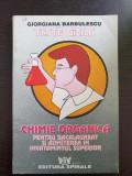 TESTE GRILA DE CHIMIE ORGANICA  - Barbulescu