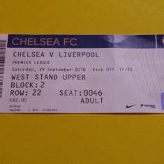 Bilet meci fotbal CHELSEA LONDRA - FC LIVERPOOL (29.09.2018)