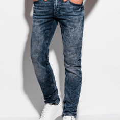 Blugi barbati P994 - albastru-jeans