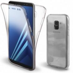 Husa Invizible 360 de grade (fata-spate) pentru Samsung Galaxy A6 2018 ,Silicon