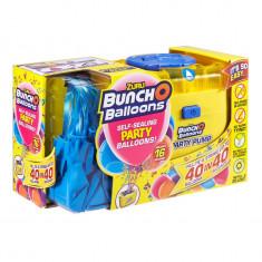 Set petrecere Bunch O Balloons cu 16 baloane si pompa - Blue