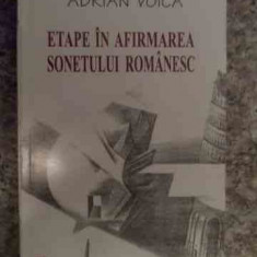 Etape In Afirmarea Sonetului Romanesc - A. Voica ,535422