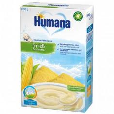 Cereale Humana cu Fulgi de Gris 4 luni+, 200g foto