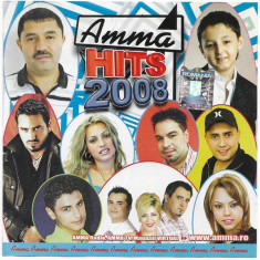 CD Amma Hits 2008, original, manele