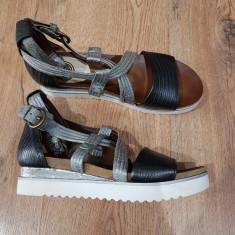 Sandale dama noi piele naturala integral foarte comode 40