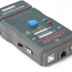 Tester pentru cablu de retea Gembird NCT-2