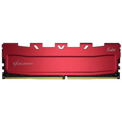 Memorie RAM Desktop Exceleram Red Kudos 8GB DDR4, 3600 Mhz, CL18, 1.35V foto