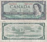 1961, 1 dollar (P-74b) - Canada