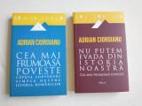 Adrian Cioroianu - Cea mai frumoasa poveste. Nu putem evada din istoria noastra