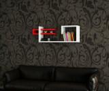Raft de perete Woody Fashion, din melamina 100 procente, 90 x 19, 5 x 30 cm, 745DCD1607