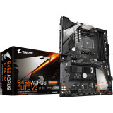 Placa de baza Gigabyte B450 AORUS ELITE V2, Socket AM4