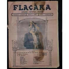 BANU C. (Director), FLACARA (Literara, Artistica si Sociala), Anul III, Numarul 32, 1914, Bucuresti