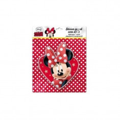 Sticker de perete cu led Minnie Heart SunCity, 20 x 20 cm