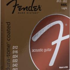 Corzi chitara acustica Fender 880L Coated 80/20 Bronze 12-52