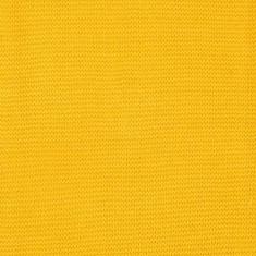 Paturica bebe Jollein Basic tricot galben 75x100 cm