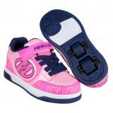 Heelys Plus x2 Hot Pink/Light Pink/Navy/Scribble