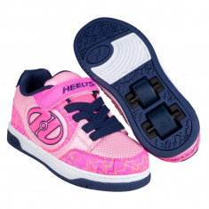 Heelys Plus x2 Hot Pink/Light Pink/Navy/Scribble