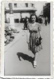 Fotografie tanara Bucuresti 1943 al doilea razboi mondial instantaneu