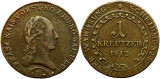 1812 B (Kremnica), 1 kreutzer - Francisc al II-lea - Imperiul Habsburgic!