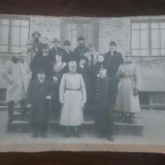 Comitetul orfanilor de razboi filiala Cetatea Alba /foto pe carton / 12x16 cm