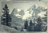 AD 69 C. P. VECHE - WENGERNALP -EIGER UND MONCH -ELVETIA -CIRCULATA 1922 FRANTA