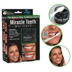 Set 2 Cutii Pudra organica pentru albirea dintilor Miracle Teeth