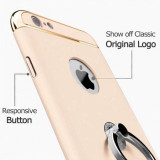 Husa pentru Apple iPhone 6/6S, GloMax 3in1 Ring PerfectFit, Gold