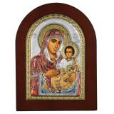 Icoana Maica Domnului de la Ierusalim 10x14cm Auriu Color COD: 1511
