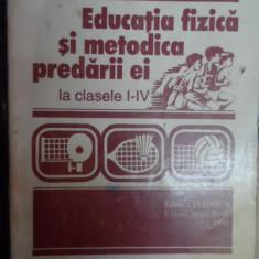 Educatie Fizica Si Metodica Predarii Ei La Clasele I-iv - Stela Coman ,548339