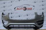 Bară față Volvo XC90 R-Design an 2014-2019 cu găuri pentru Parktronic și spălătoare faruri (6 senzori)