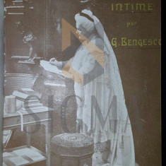 G. BENGESCO - CARMEN SYLVA - INTIME, 1905