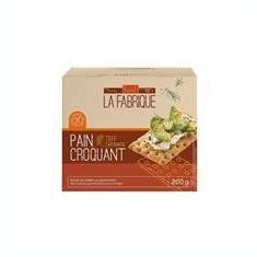 Paine Crocanta cu Teff 200gr La Fabrique Cod: LF0784