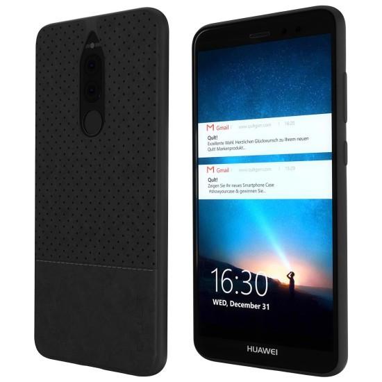 Husa Qult Drop pentru Huawei Mate 10 Lite Negru