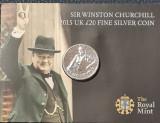 Marea Britanie 20 lire pounds 2015 argint UNC, Europa