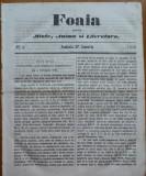 Foaia pentru minte , inima si literatura , nr. 4 , 1862 , Brasov , I. Muresanu