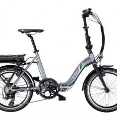 Bicicleta electrica cu cadru aluminiu ZT-71 URBAN GREY