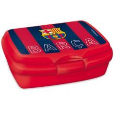 Cutie pentru sandwich FC Barcelona rosu