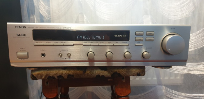 Amplificator Audio Statie Audio Amplituner Denon DRA-385RD